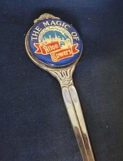 Alton Towers Letter Opener