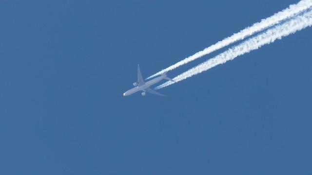 Air France F-GSQU 777-328ER EGCC 05.05.2020