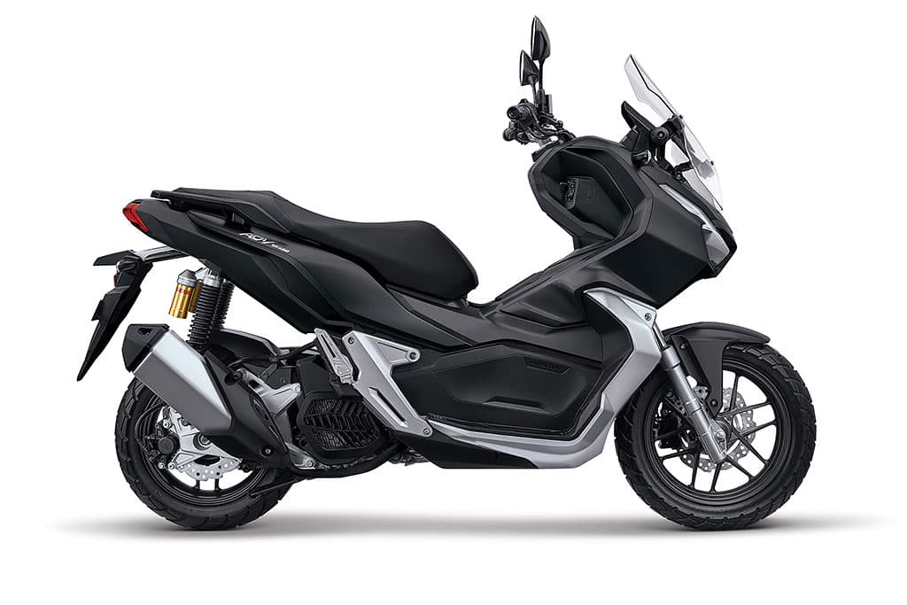 Honda ADV 150 Matte Gunpowder Black Metallic