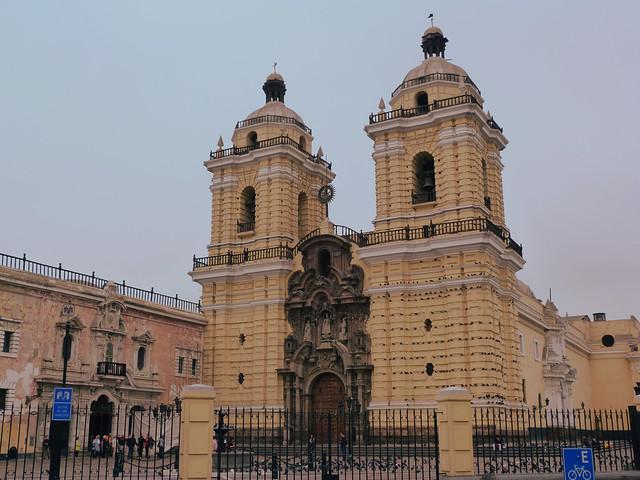 Monasterio de San Francisco en Lima (Perú)