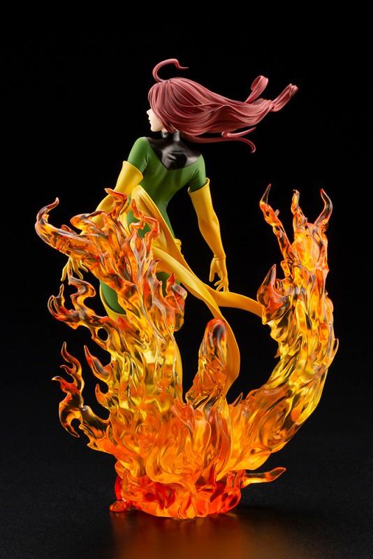 浴火重生的鳳凰之力~壽屋 MARVEL美少女系列「鳳凰 REBIRTH 限定版」1/7 比例 PVC 塗裝完成品(フェニックス REBIRTH 限定版)