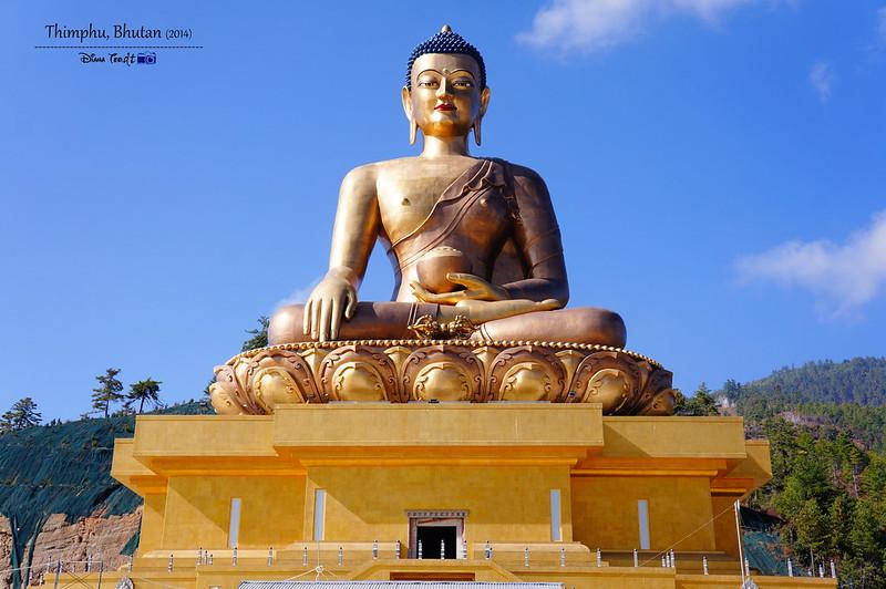 Bhutan Day 2 - Thimphu Buddha Dordenma