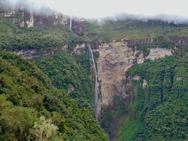 Catarata Gocta (Chachapoyas, Perú)