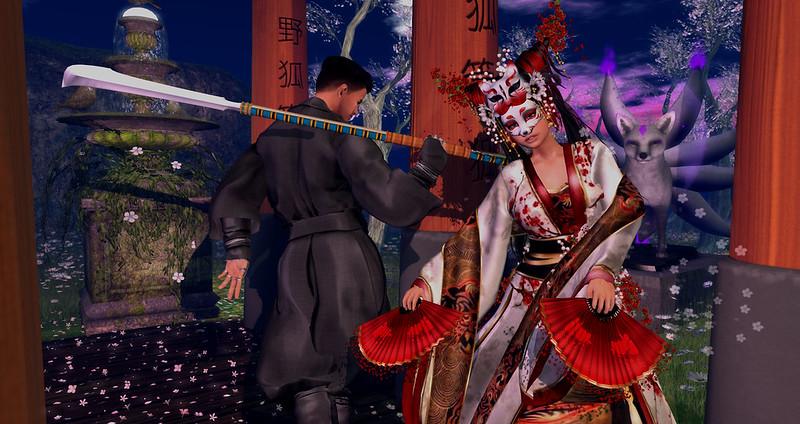 Dance Of The Kitsune