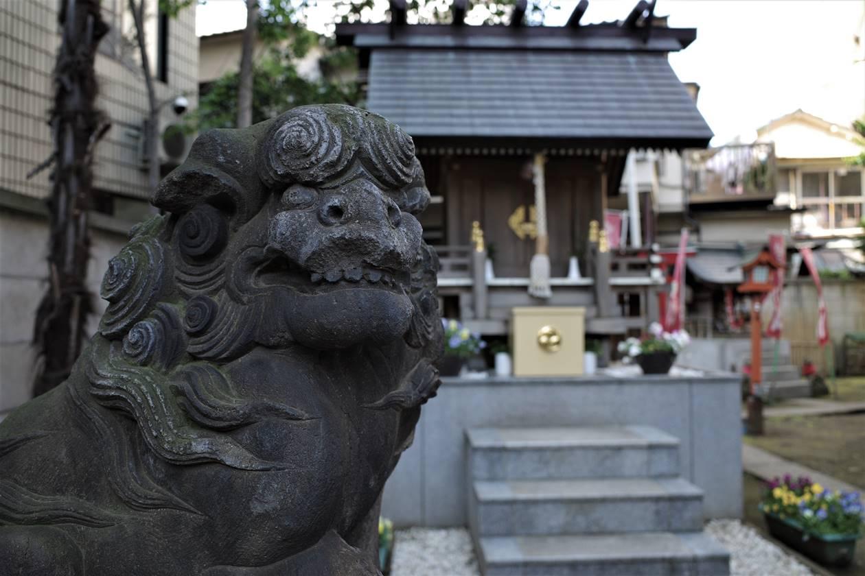 氷川神社の狛犬