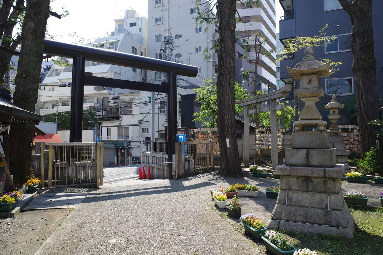 東京都杉並区高円寺・氷川神社