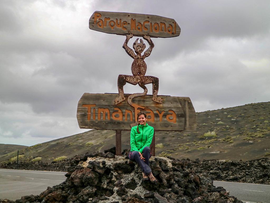 El Diablo del Parque Nacional de Timanfaya es un logo diseñado por Manrique