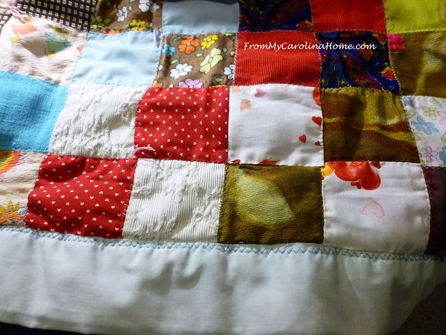Quilt Repair at FromMyCarolinaHome.com