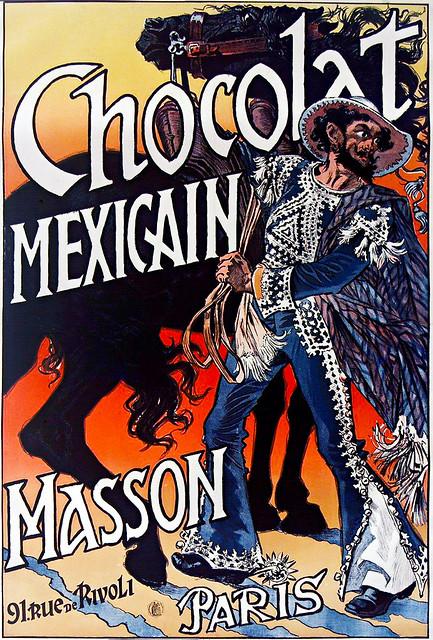 GRASSET, Eugène.  Chocolat Mexicain, Paris.