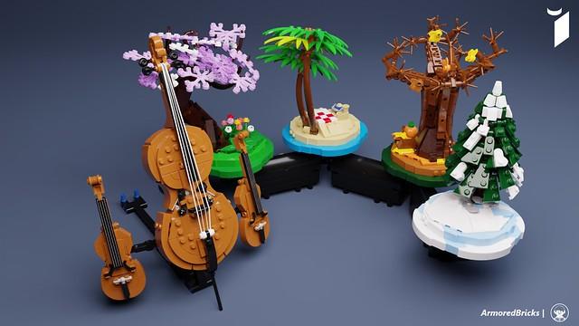 Lego Ideas The Four Seasons