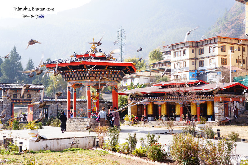 Bhutan Day 2 - Thimphu Memorial Chorten 2