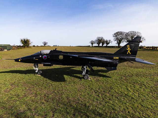 Royal Air Force   Sepecat Jaguar GR3A   XZ394