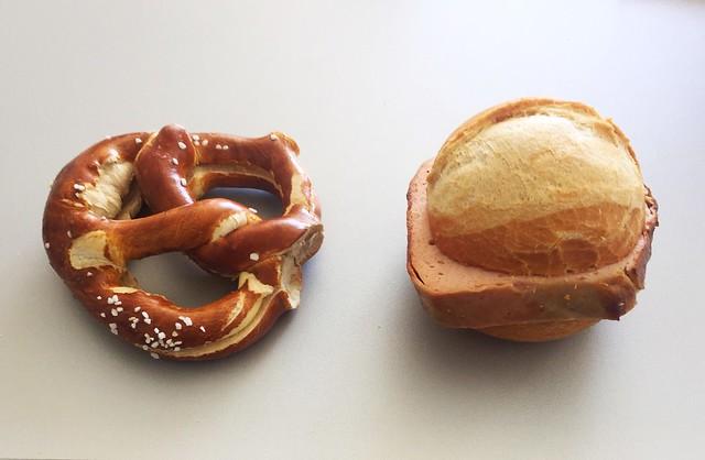 Butter pretzel & Bavarian Meatloaf / Butterbrezel & Leberkäse