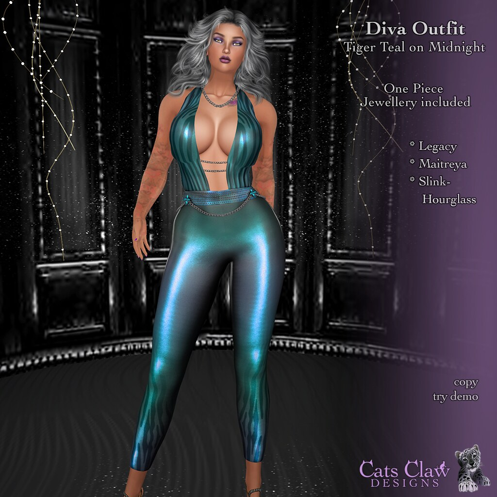 _CCD_Diva Outfit Tiger Teal on Midnight-AD