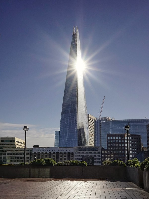 The Shard Golden Hour.