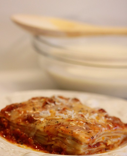 Lasagna with Bechamel Sauce [EXPLORED]