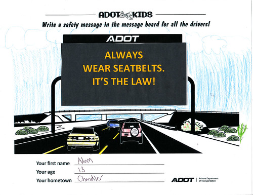 ADOT Kids: Safety Messages