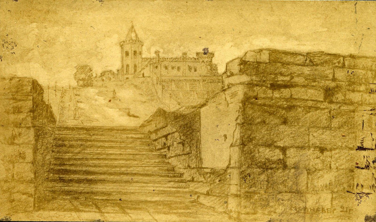 Лестница из порта на Торговую ул.