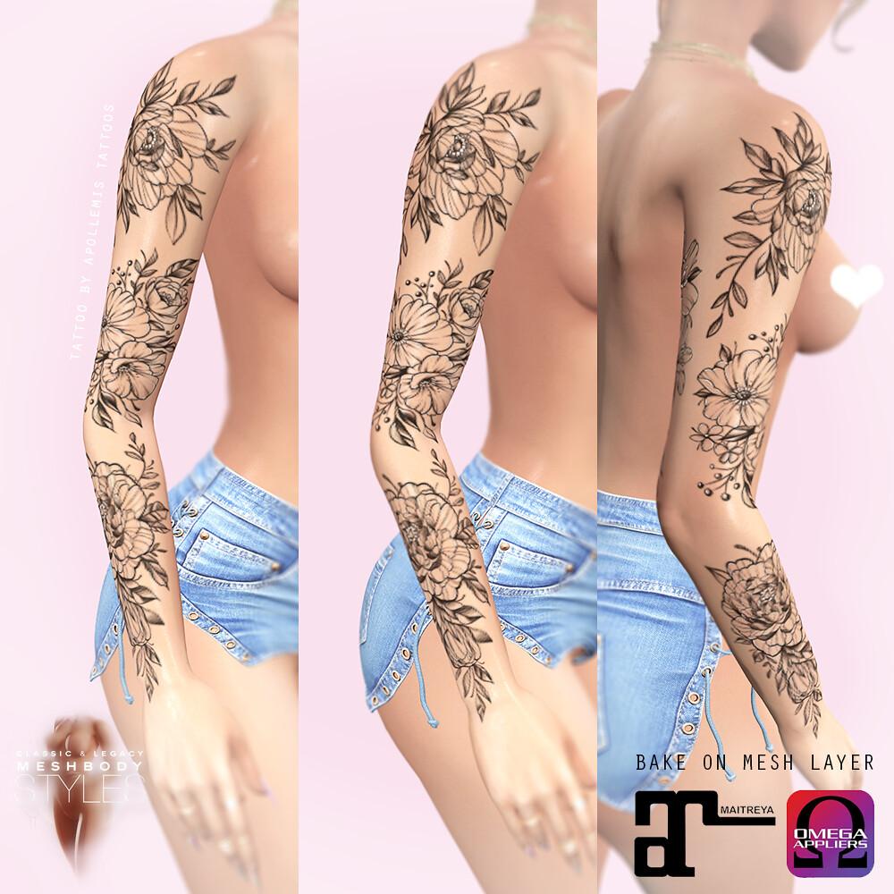 Floral Sleeve #2