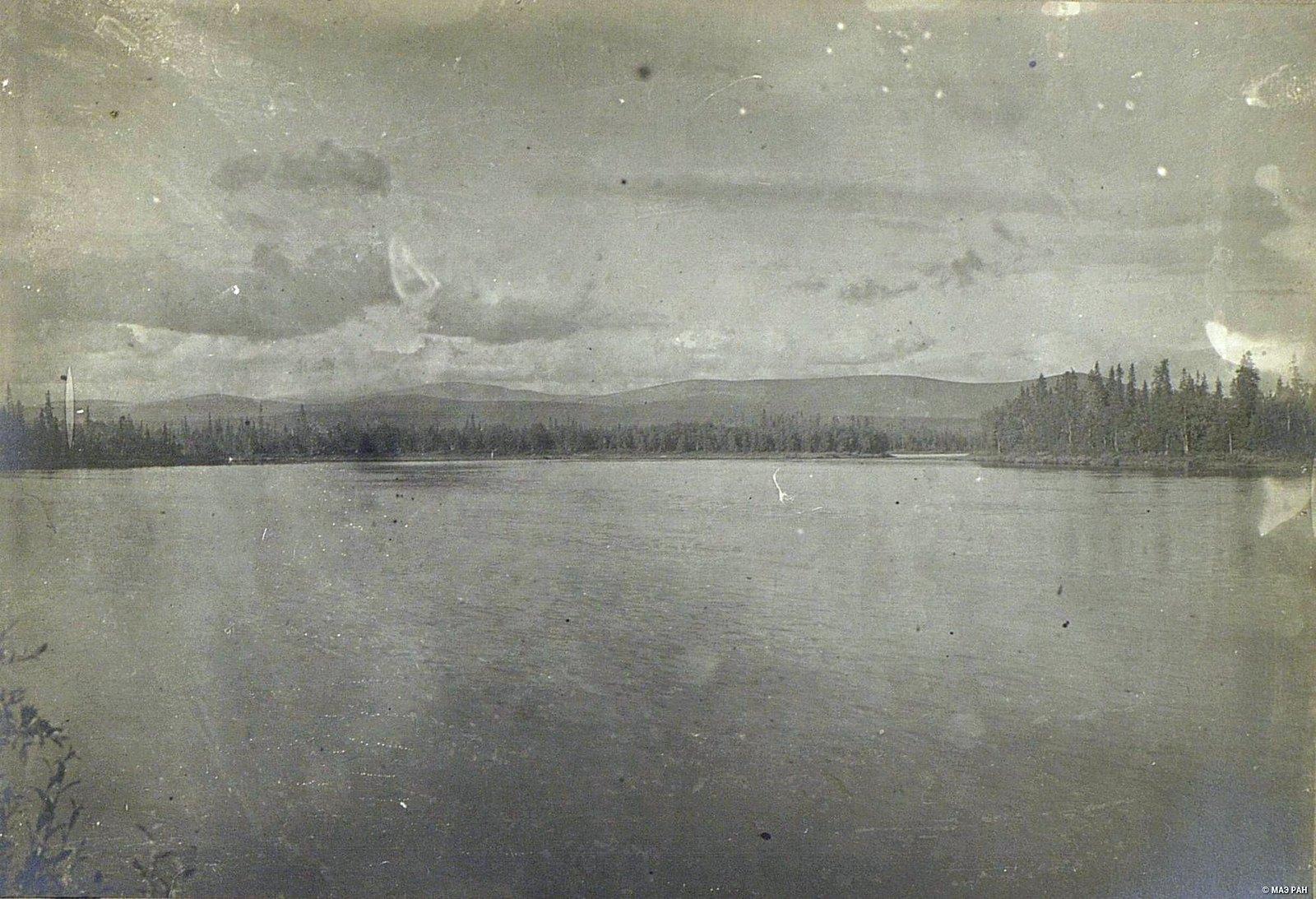 Лапландия. Вид Натозера