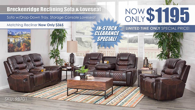 Corinthian Sofa and Loveseat Special_98701