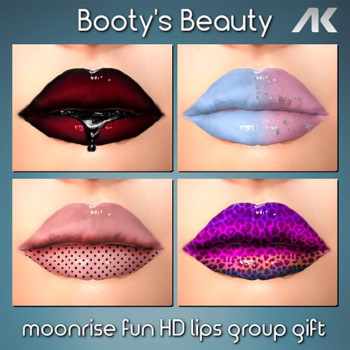 *Booty's Beauty& Moonrise FUN HD Lips for AK Advanced