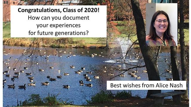 Faculty Congratulates 2020 Graduates!