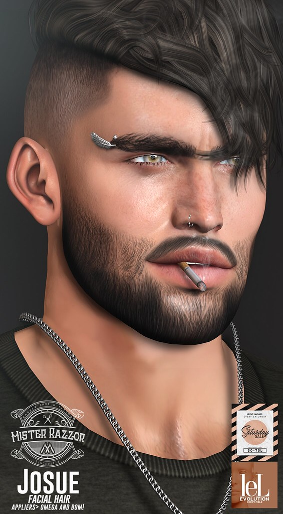 ((Mister Razzor)) Josue Facial Hair SS