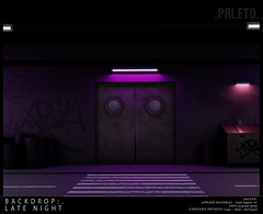 .PALETO. Backdrop:. Late night