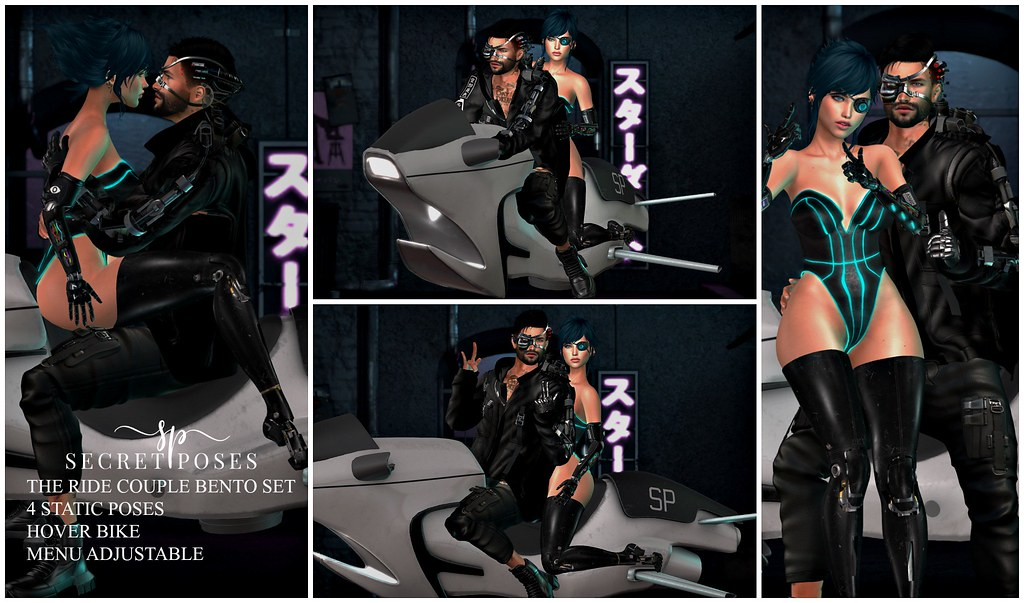 Secret Poses - The Ride @CyberPunk