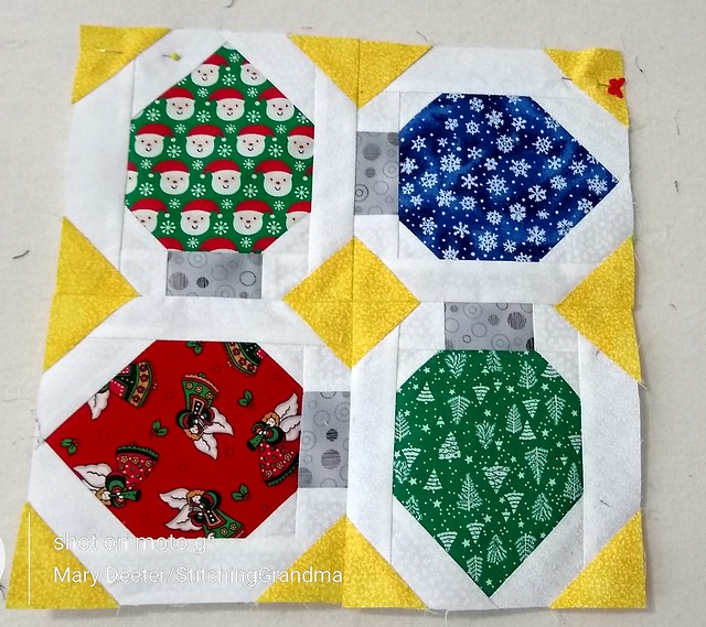 Twinkle lights Vintage Quilt by Lori Holt