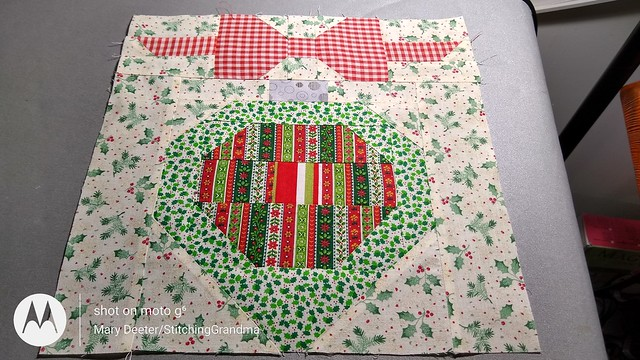 Ornament block - Vintage Christmas Quilt