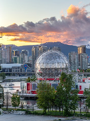 Science World May 6, 2020 at Sunset