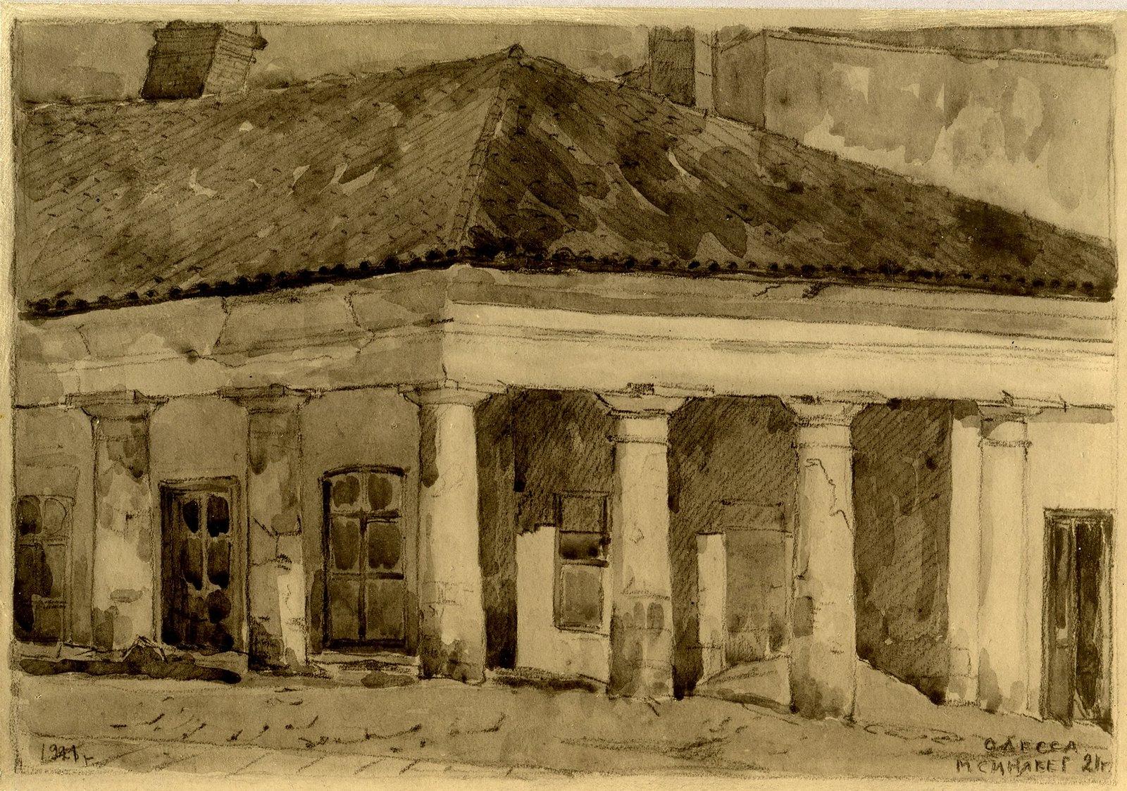 Деталь дома в Старорезничном переулке