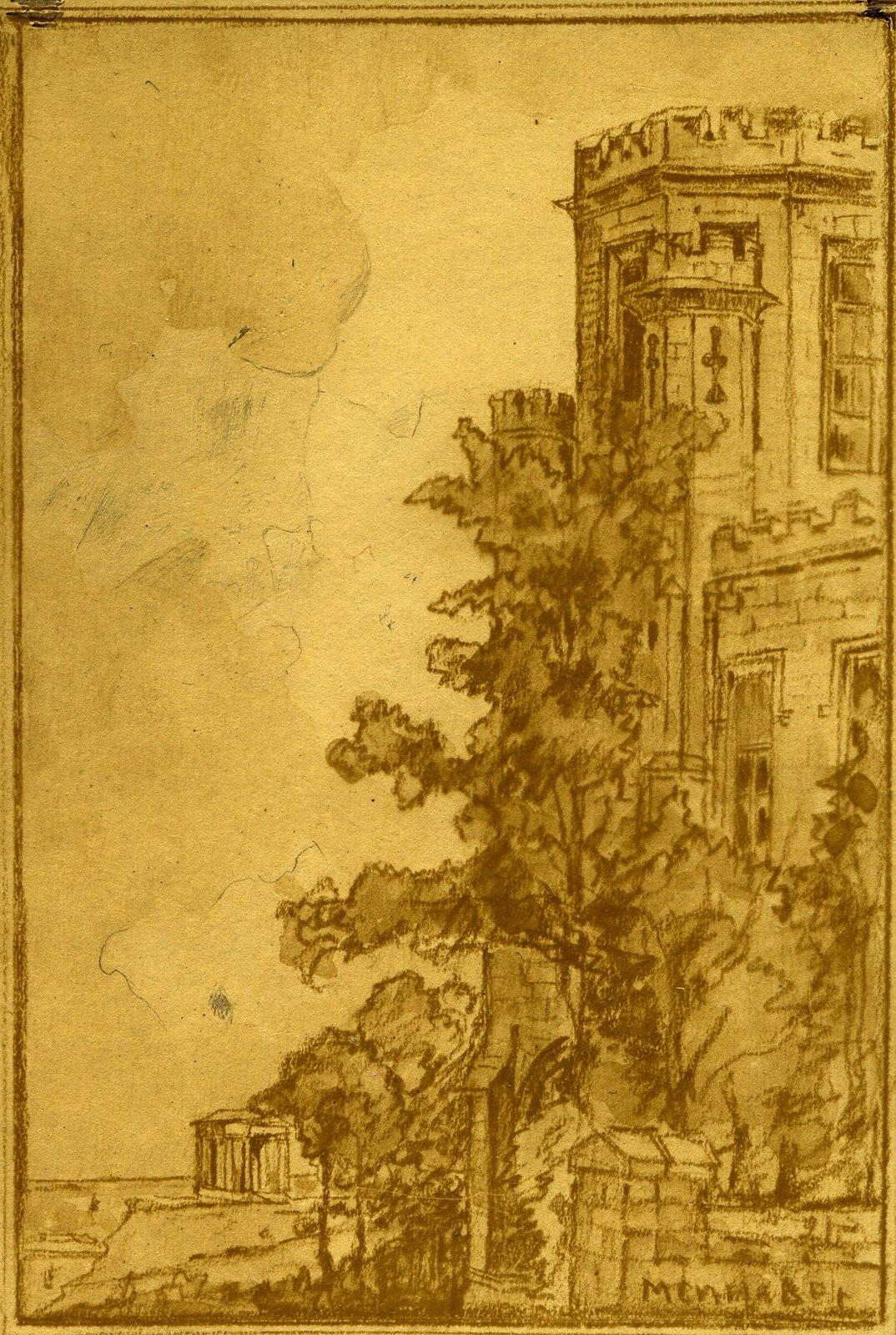 Деталь дворца персидского шаха.