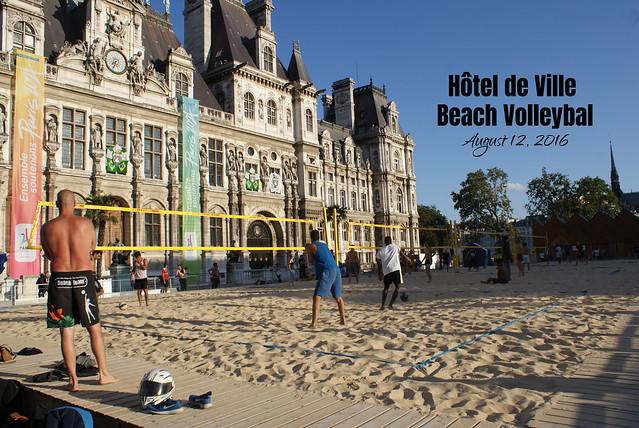 Hôtel de Ville Paris - Beach Volleybal