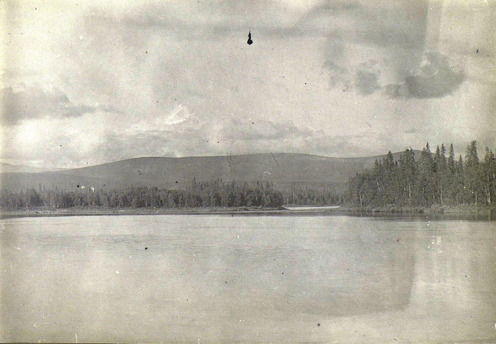 Лапландия. Вид Натозера.