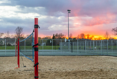 Sunset Volley Dreams