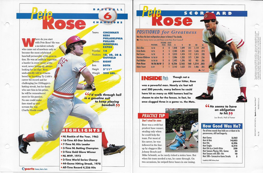 1994 pete rose baseball 08
