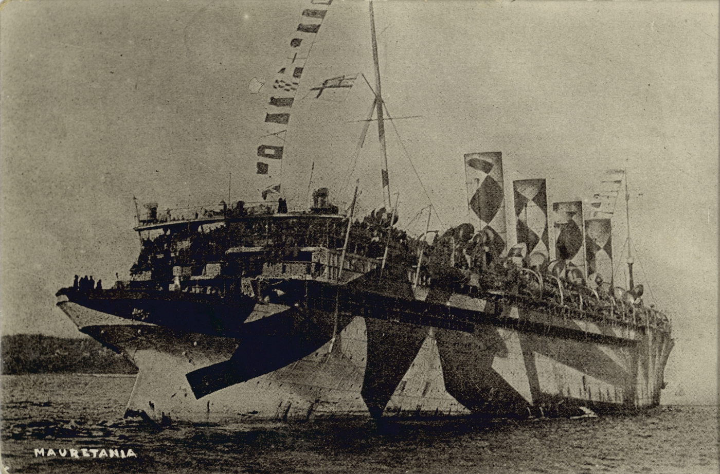 RMS Mauretania, merchant ship, ca.1915