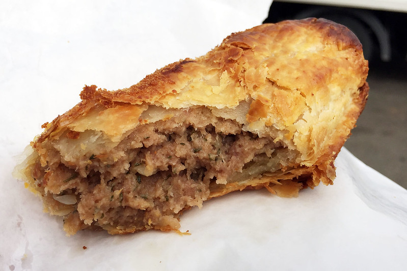Sausage roll: Andrew's Patisserie, Pennant Hills