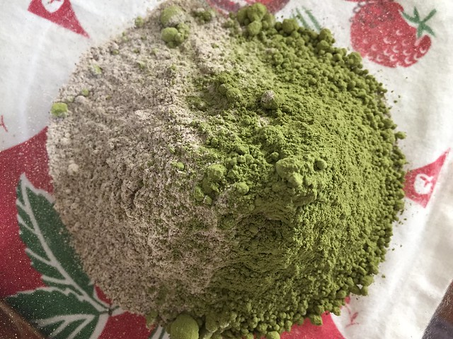 Matcha Buckwheat mix