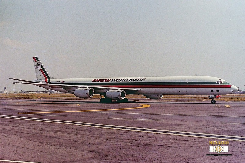 Emery Worldwide / McDonnell Douglas DC-8-73(CF) / N796FT