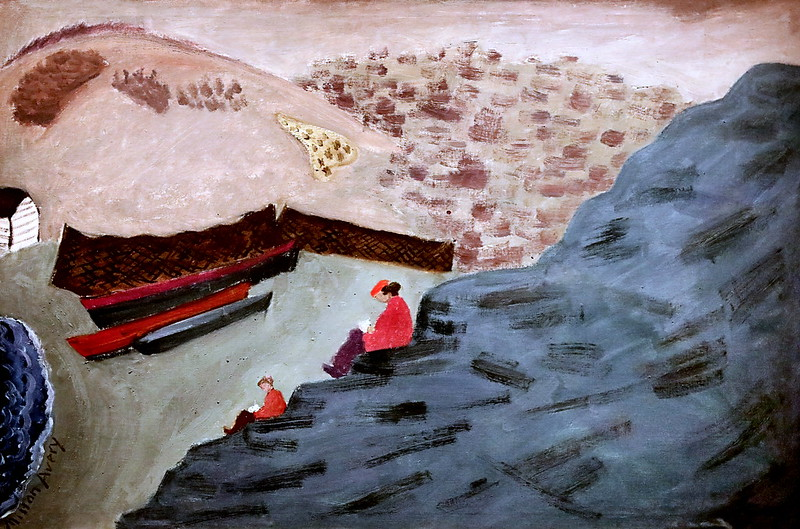 IMG_2400E Milton Avery 1885-1965 New York Crique canadienne  Canadian cove 1940 Madrid  Musée Thyssen Bornemisza