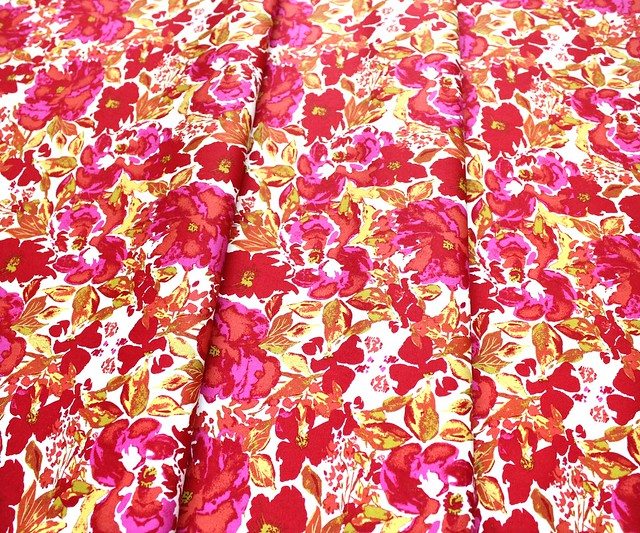 Art Gallery Fabrics 365 Fifth Avenue Dressing Room Rouge