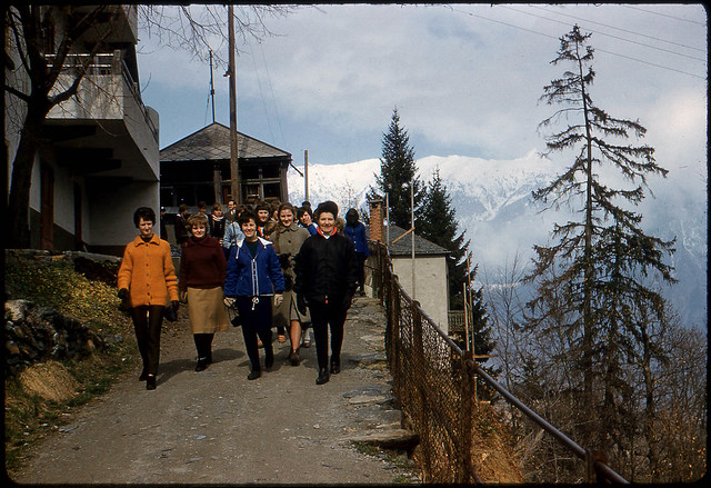 Near Les Marécottes, Switzerland, 1964
