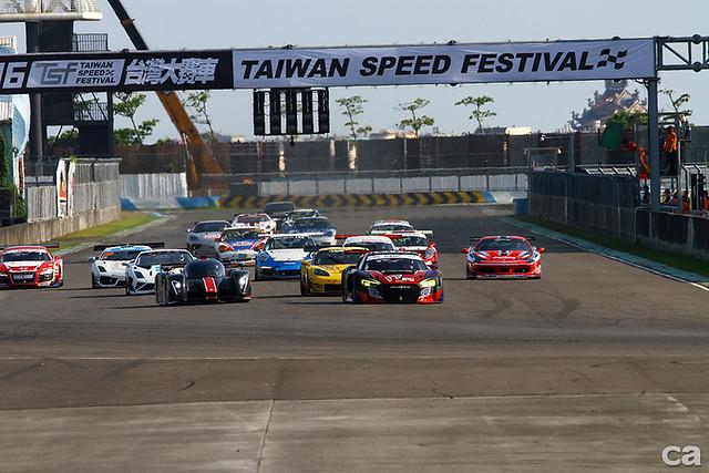 大鵬灣賽車場曾經舉辦過GT3級與國際統一規格賽的歷史。