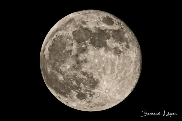 [In Explore # 60] Pleine Lune   Full Moon, 07/05/20 Poitiers, France