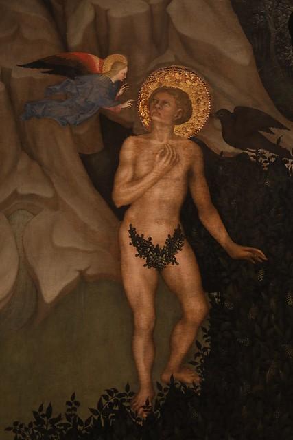 San Benedetto tentato nel deserto presso Subiaco (1415-20)