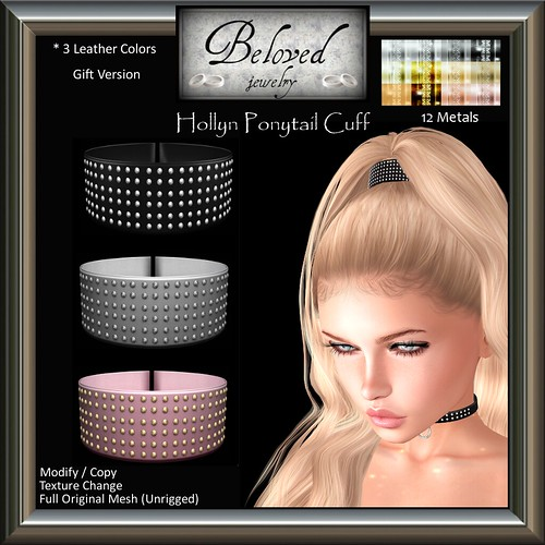 Beloved Jewelry : Hollyn Ponytail Cuff